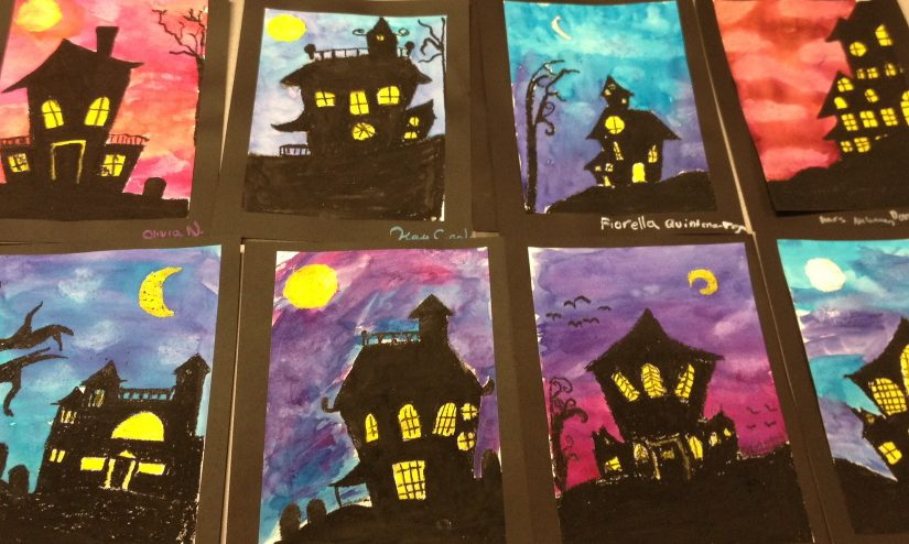 My Favorite HALLOWEEN ART LESSONS