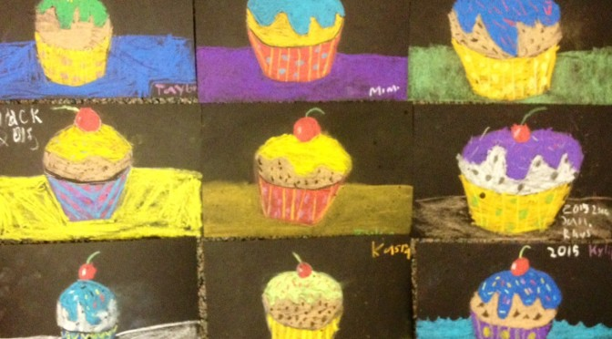 Chalk Cupcakes