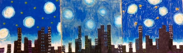 Middle School Pi Day Cityscapes