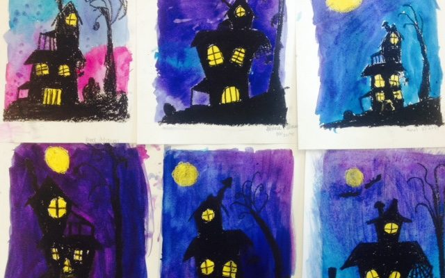 October Art Projects For Elementary